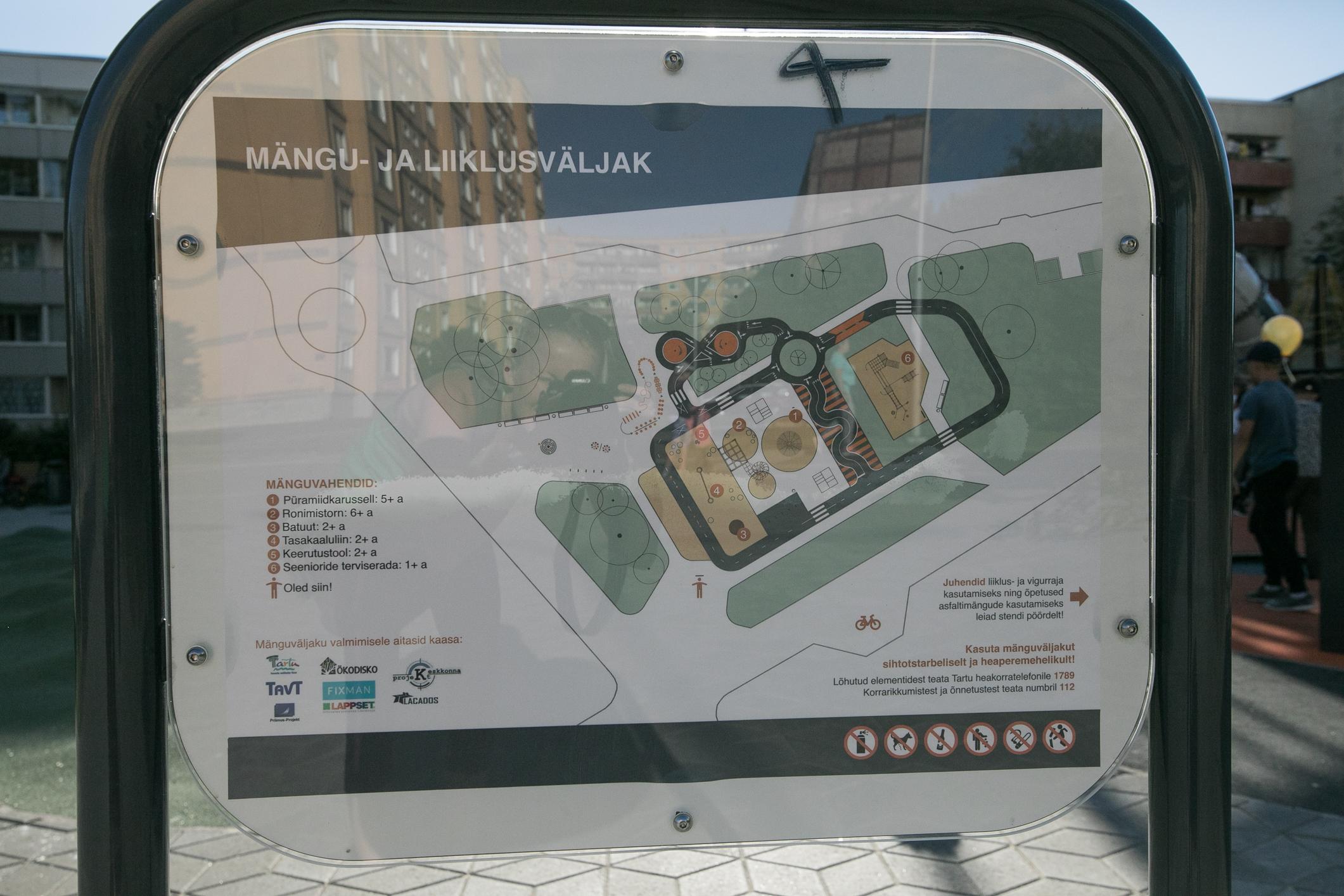 Annelinna mänguväljaku plakatite kujundus 2020